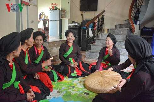Preserving Quan Ho folk singing  - ảnh 1
