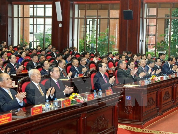 President attends 10th founding anniversary of Central Agencies' Party Committee - ảnh 1