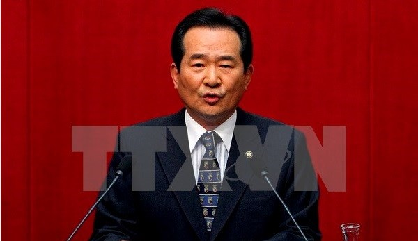 Republic of Korean National Assembly Speaker visits Vietnam - ảnh 1