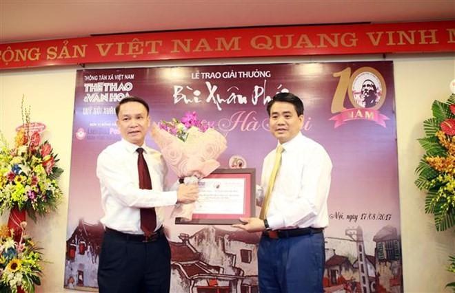 Bui Xuan Phai – For the Love of Hanoi Award - ảnh 1