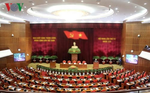 Party Central Committee's 6th plenum enters 3rd day - ảnh 1