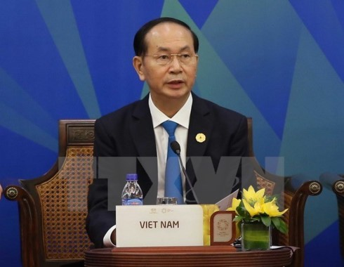 President calls for sustaining APEC role as driver of economic growth, integration  - ảnh 1