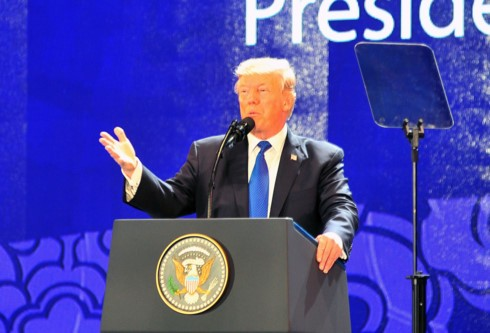 President Trump's visit opens greater cooperative opportunities with Vietnam: US expert - ảnh 1
