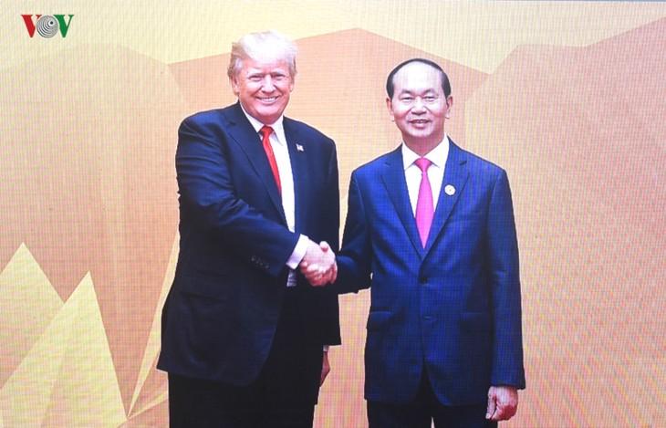 US President pays state visit to Vietnam  - ảnh 1