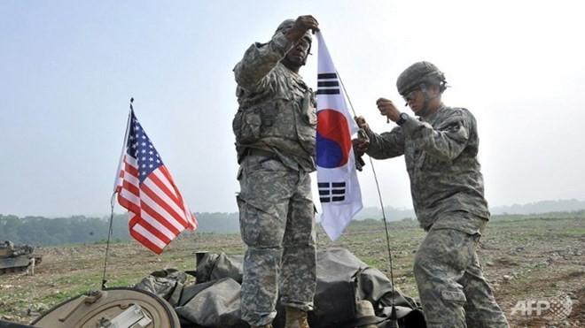 美日韩计划就朝鲜问题举行三方高级会谈 - ảnh 1