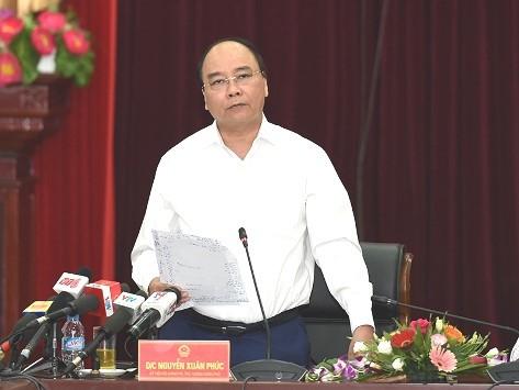 越南政府总理阮春福主持莱州省旅游投资推介会 - ảnh 1