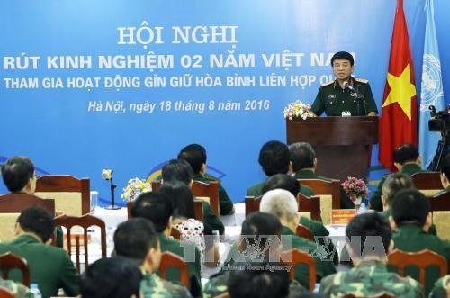 越南积极参与联合国维和行动 - ảnh 1