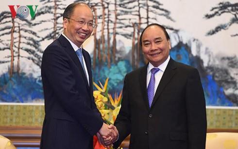多家中国大型集团和银行希望投资越南 - ảnh 1