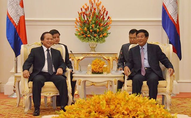 加强越南与柬埔寨的信息交流和媒体合作 - ảnh 1