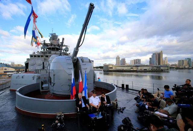 俄罗斯与菲律宾面向正式达成防务合作协定 - ảnh 1