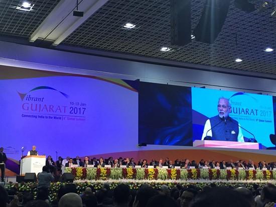 越南出席在印度举行的古吉拉特全球投资峰会   - ảnh 1