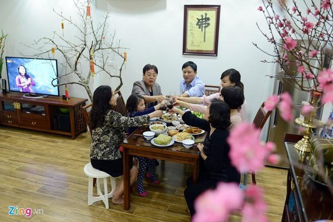 越南人家庭生活中年尾的最后一个下午 - ảnh 2