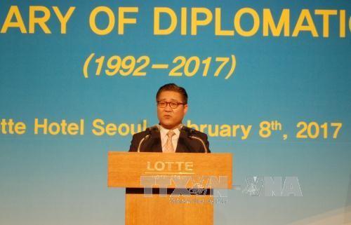 越韩建交25周年庆祝活动在韩国举行 - ảnh 1