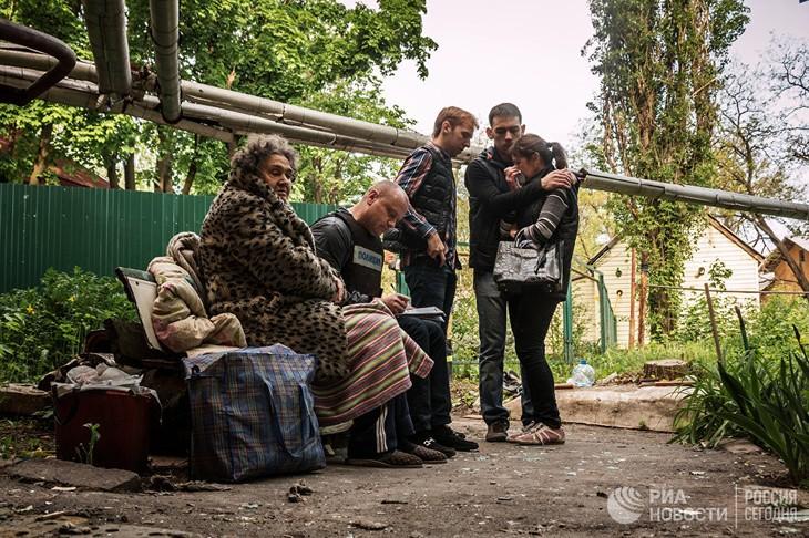 新明斯克停火协议签署两年后乌克兰东部地区仍不太平 - ảnh 1