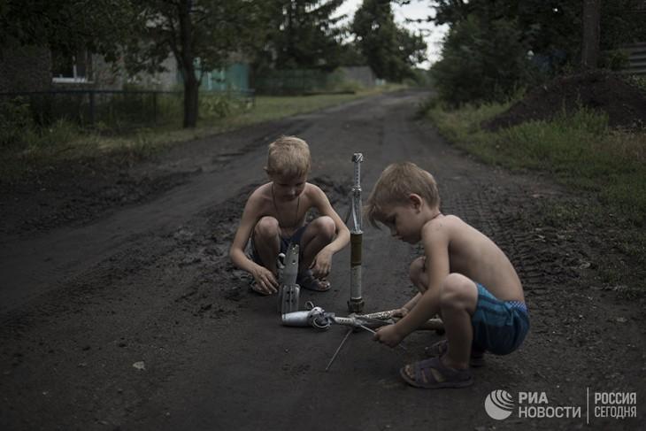 新明斯克停火协议签署两年后乌克兰东部地区仍不太平 - ảnh 2