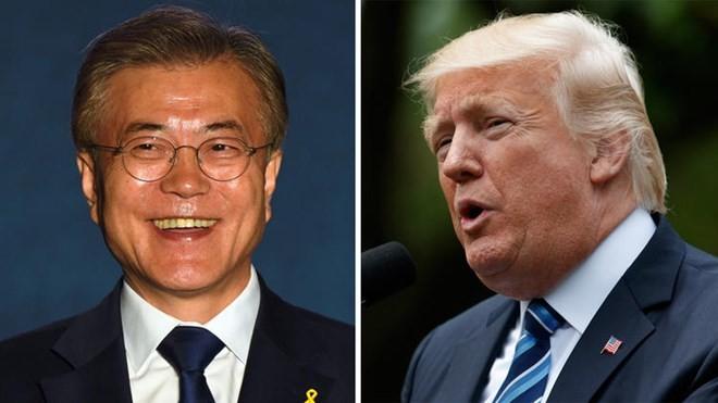 美韩领导人同意在朝鲜问题上紧密合作   - ảnh 1