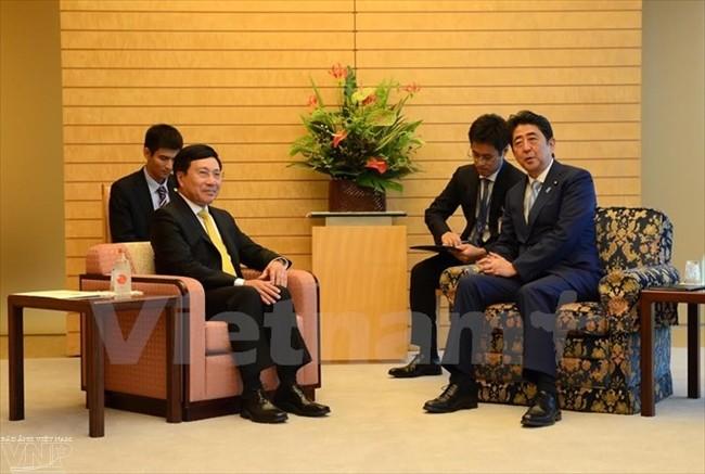 进一步深化越南和日本深广战略伙伴关系   - ảnh 1