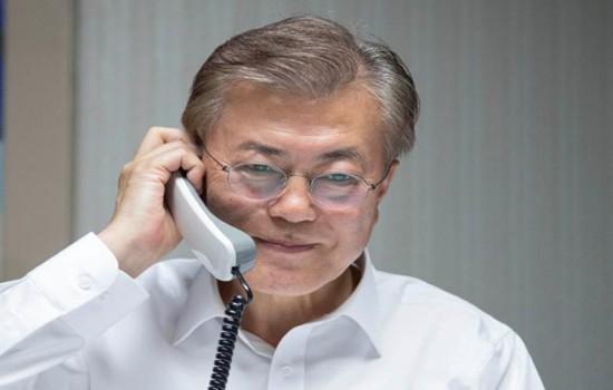 美国总统特朗普希望与韩国合作解决朝核问题   - ảnh 1