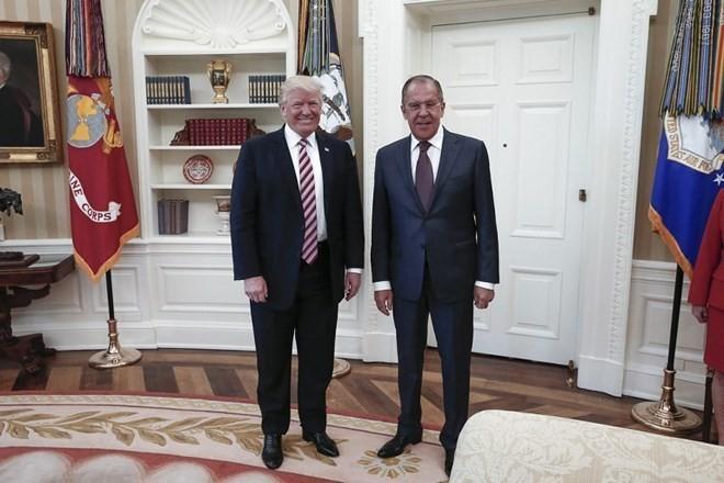 普京驳斥俄罗斯获特朗普泄密指控 - ảnh 1