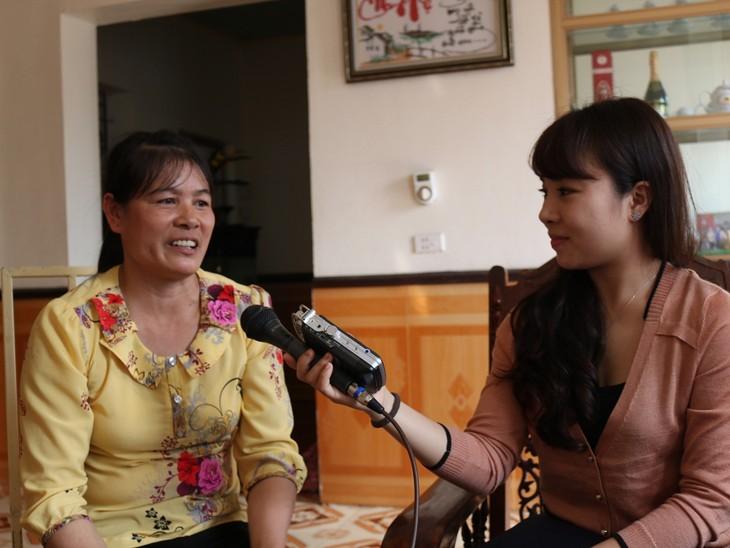 兴安省新农村建设运动中的模范妇女——陈氏姮 - ảnh 1