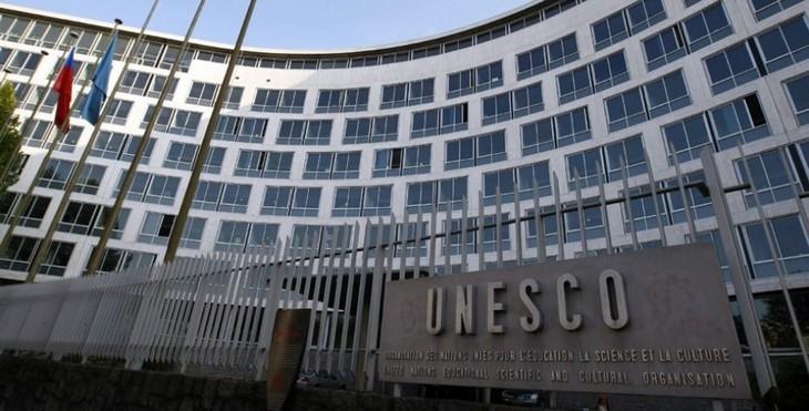 UNESCO总干事选举第3轮投票:法国和卡塔尔候选人争夺激烈  - ảnh 1