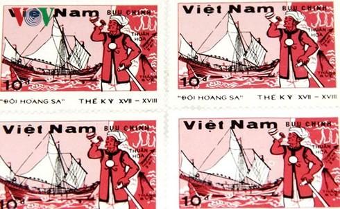 拥有黄沙和长沙两座群岛独特邮票的特殊农民——陈友惠 - ảnh 2