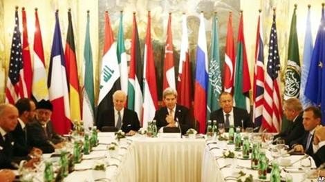 รัสเซียและสหรัฐเห็นพ้องจัดประชุมระดับรัฐมนตรีต่างประเทศเกี่ยวกับซีเรีย - ảnh 1
