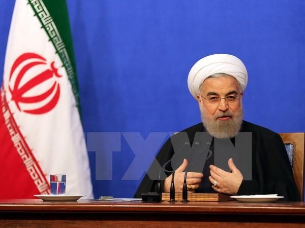 อิหร่านมีความประสงค์ที่จะได้อยู่ในสันติภาพเพื่อการพัฒนาพร้อมกับนานาประเทศทั่วโลก - ảnh 1