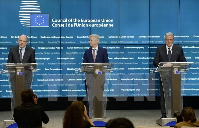 ประเทศสมาชิกสหภาพยุโรปให้คำมั่นที่จะผลักดันการแลกเปลี่ยนข้อมูลต่อต้านการก่อการร้าย - ảnh 1