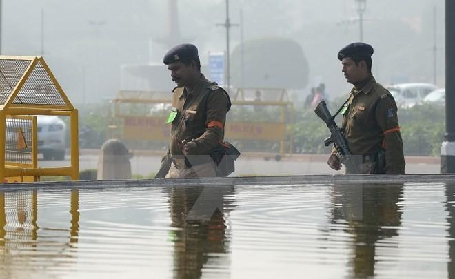 อินเดียเพิ่มความเข้มงวดในการรักษาความมั่นคงในกรุงนิวเดลี - ảnh 1