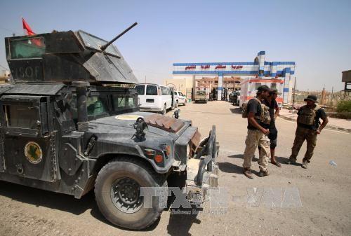 กองกำลังรักษาความมั่นคงอิรักปลดปล่อยเขตที่ถูกกลุ่มไอเอสควบคุมหลายแห่ง - ảnh 1