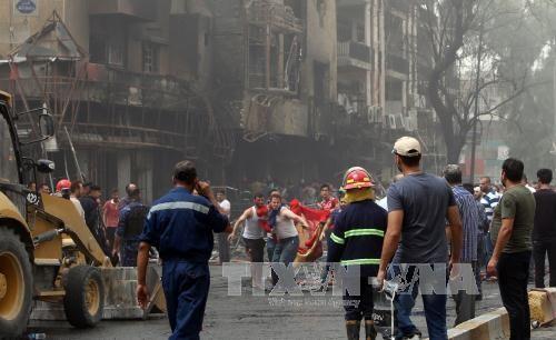 สหรัฐประณามการโจมตีหลายครั้งในกรุงแบกแดดของประเทศอิรัก  - ảnh 1