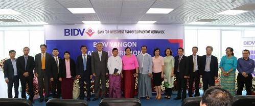 ธนาคาร BIDV เปิดสาขาในประเทศพม่า  - ảnh 1
