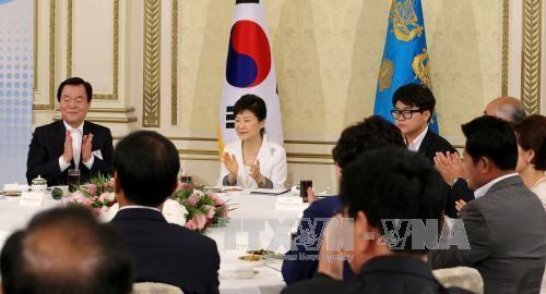ประธานาธิบดีสาธารณรัฐเกาหลีเรียกร้องความสามัคคีชนในชาติ    - ảnh 1