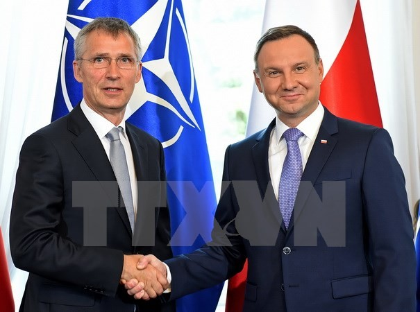 BREXIT และความสัมพันธ์กับรัสเซียจะเป็นเหนื้อหาหลักในการประชุมสุดยอดนาโต้  - ảnh 1