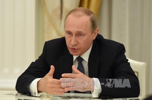 ประธานาธิบดีรัสเซียหารือกับรมต.การต่างประเทศสหรัฐเกี่ยวกับปัญหาซีเรียและยูเครน - ảnh 1