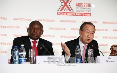 สหประชาชาติเรียกร้องประชาคมโลกผลักดันการแก้ไขปัญหาโรคเอดส์ - ảnh 1