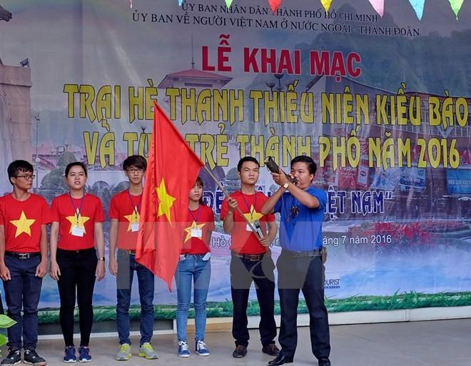 เปิดค่ายฤดูร้อนเยาวชนและยุวชนชาวเวียดนามที่อาศัยในต่างประเทศและเยาวชนนครโฮจิมินห์ - ảnh 1