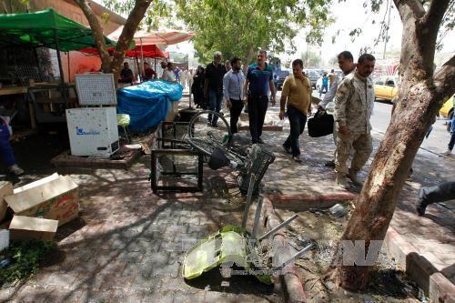 ไอเอสแสดงความรับผิดชอบต่อเหตุลอบวางระเบิดในอิรัก  - ảnh 1