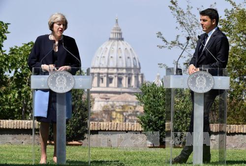 อังกฤษมีความประสงค์ที่จะบรรลุข้อตกลงการค้ากับอียูที่เอื้อประโยชน์มากที่สุดหลัง BREXIT - ảnh 1