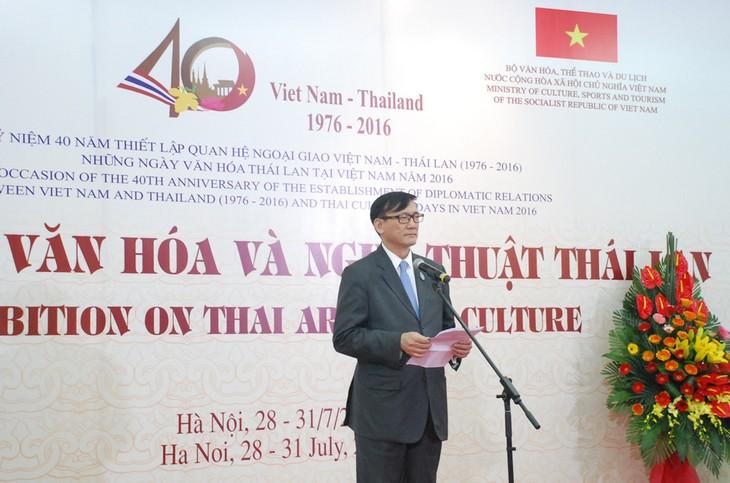 งานวันวัฒนธรรมไทยในเวียดนาม - ảnh 1