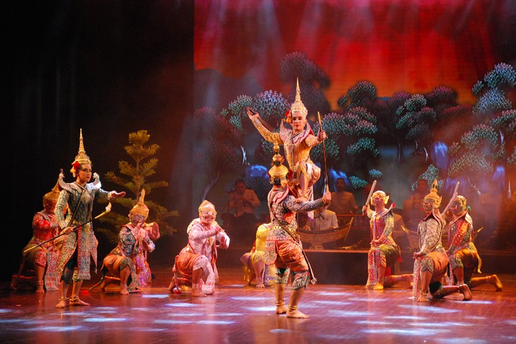 งานวันวัฒนธรรมไทยในเวียดนาม - ảnh 29