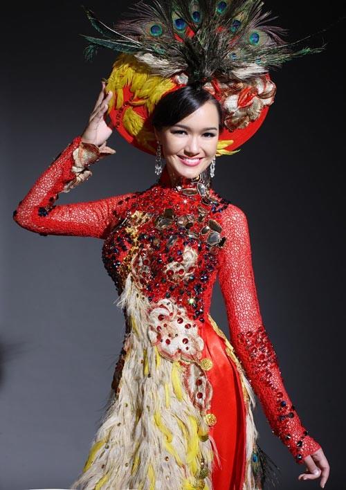 El Ao Dai enorgullece a Vietnam - ảnh 6