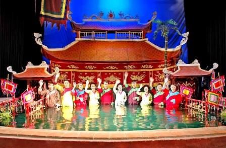 Récord Guinness para el Teatro de guiñol acuático Thang Long de Vietnam - ảnh 3