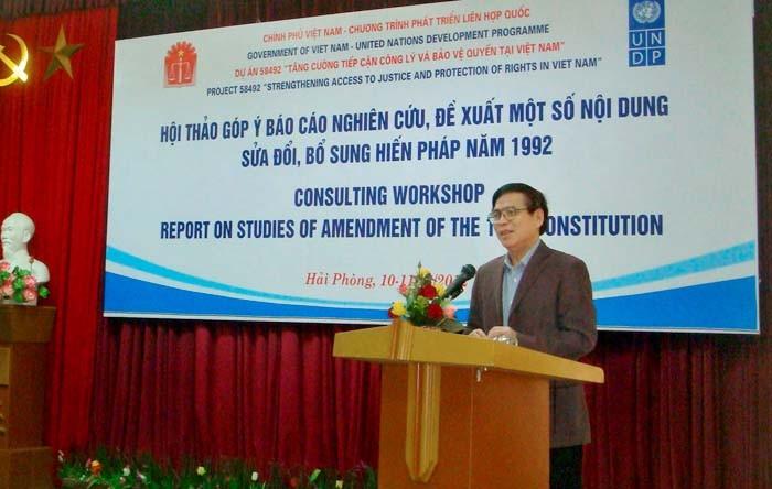 Constitución modificada representará voluntad y aspiración del pueblo  - ảnh 1