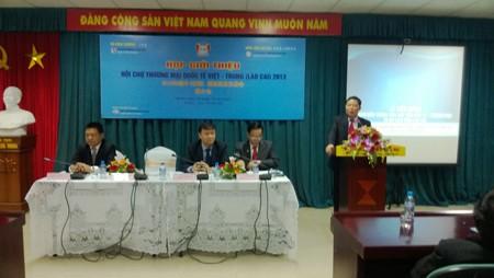 Celebrarán Feria Comercial Vietnam-China 2013 en Lao Cai - ảnh 1