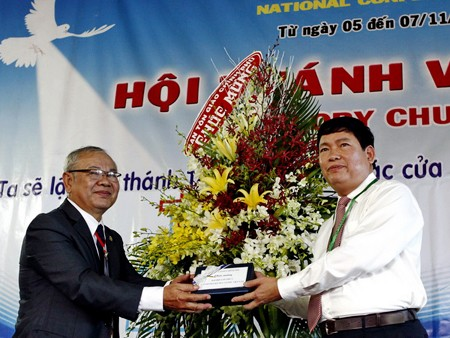 Congreso 3 de la Asociación Cristiana de Vietnam marca avances religiosos  - ảnh 1