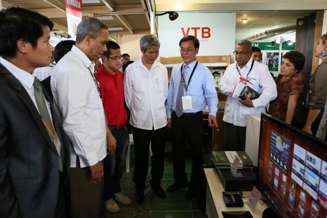 Vietnam busca nuevas oportunidades comerciales en FIHAV 2013 - ảnh 1