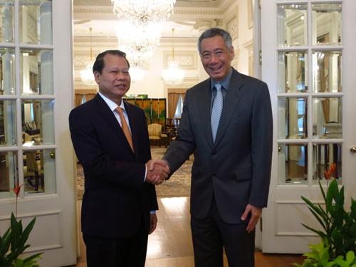 Vietnam y Singapur ratifican colaboración en reforma financiera e inversión - ảnh 1