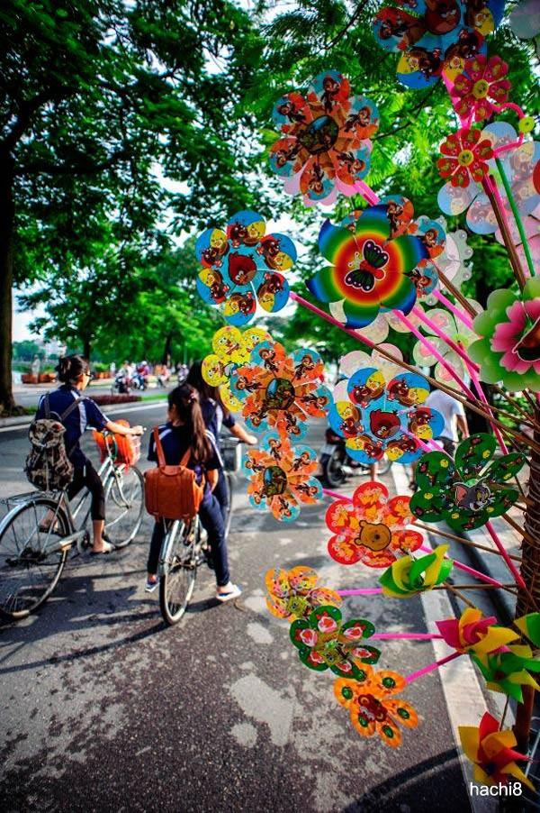 Hanoi en los últimos días del otoño  - ảnh 12